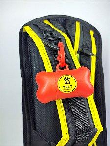 Porta-Saquinhos Higiênicos Vermelho Yellow Pet