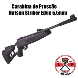 Carabina de Pressão Hatsan Striker Edge 5,5mm