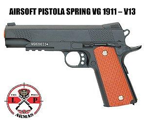 AIRSOFT PISTOLA SPRING VG 1911 – V13