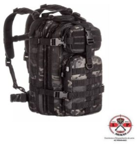 MOCHILA ASSAULT INVICTUS - CAMUFLADO WARSKIN BLACK