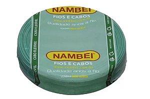 13895 CABO FLEX 750V 4,00MM VERDE NAMBEI