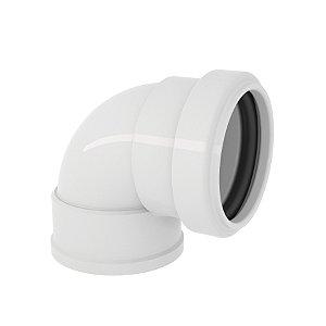 27560423 PVC ESGOTO JOELHO C/A 40 MM TIGRE