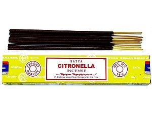 Incenso Massala Satya Citronella (Citronela) vendido na Europa