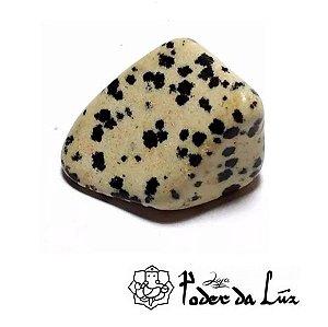 Pedra Jaspe Dalmata (unidade de 20g a 29g)