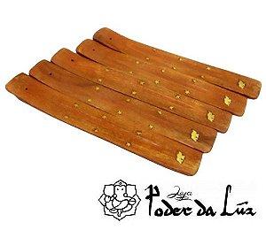 Incensário Indiano de Madeira Tradicional