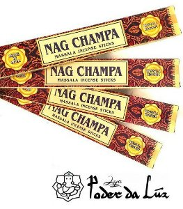 Kit 4 cx Incenso Tulasi Massala Nag Champa