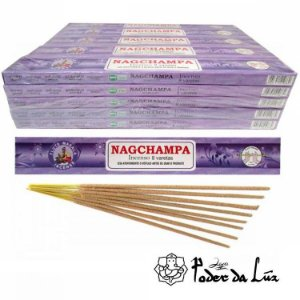 Kit 4 cx Incenso Flute Massala Nag Champa