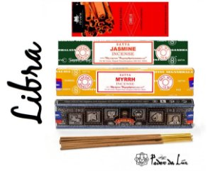 Kit Incensos do Signo Libra (4 caixas)
