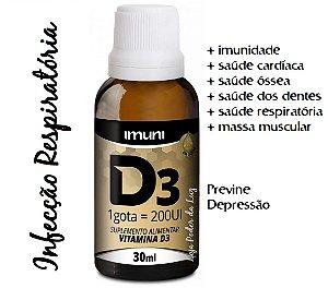 Vitamina D 200UI Imuni (30ml)