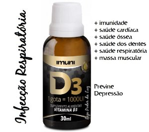 Vitamina D 1000UI Imuni (30ml)