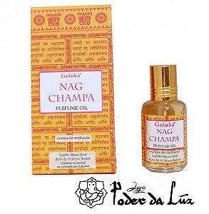 Óleo Perfumado Goloka Nag Champa