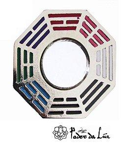 Baguá do Céu Posterior em Metal Colorido 5cm