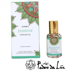 Óleo Perfumado Goloka Jasmine (Jasmim)