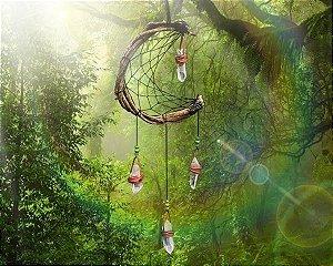 Filtro dos Sonhos Luar da Floresta