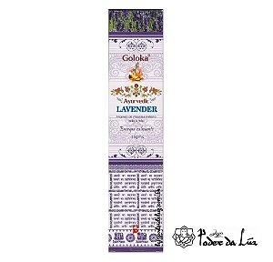 Incenso Massala Goloka Ayurvedic Lavender