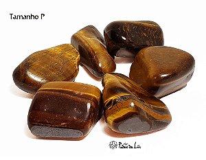 Kit de Pedra Olho de Tigre 50g (aprox. 8 unid.)