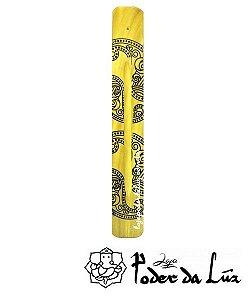 Incensário Indiano de Madeira Color Amarelo