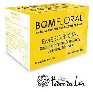 Caixa de Chá Emergêncial Bom Floral (15 Sachês)