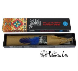 Incenso Massala Tribal Soul Palo Santo e Pinho