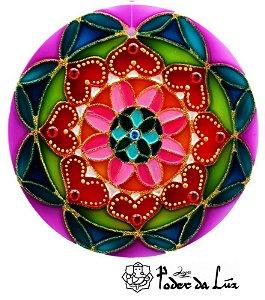 Ativador de Energia Mandala Coração (10cm)