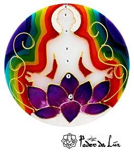 Ativador de Energia Mandala Meditação (10cm)