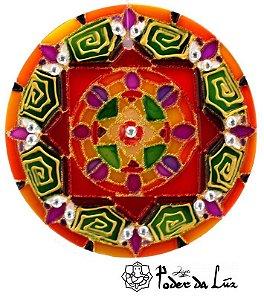 Ativador de Energia Mandala Yantra (10cm)
