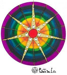 Ativador de Energia Mandala 7 Raios (14cm)