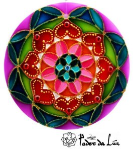 Ativador de Energia Mandala Coração (14cm)
