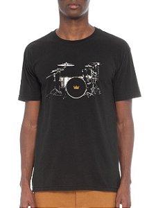 Osklen Camiseta Vintage Drum Kit 61861