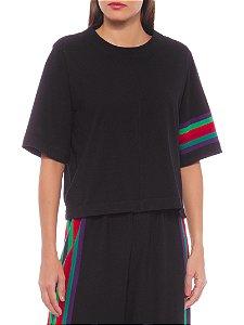 Osklen Cropped Color Stripes 61535