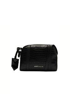 Schutz Bolsa Tiracolo Pequena Texture Preta S5001506380001
