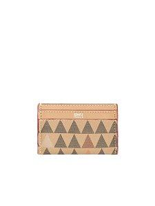 Schutz Porta Cartões Triangle Rosa S4605800110003