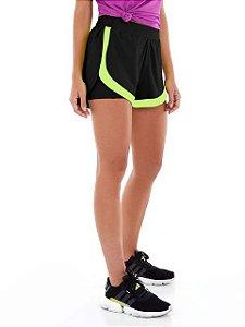 Alto Giro Shorts Bahamas Slim Preto 2131003