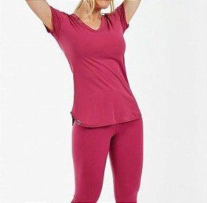 Alto Giro T-Shirt Skin Fit Rosa - 2011701