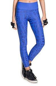 Live Legging Essential Azul Bic - P8117