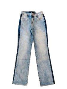 Maria Valentina Calça Jeans Detalhe Lateral - 203150