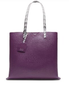 Schutz Shopping Bag Minimal Triangle Purple - S5001812460003