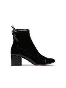 Schutz - Bota Block Heel Verniz Black - S2008200210010