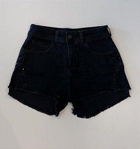 Musc Short Jeans Black - 03786