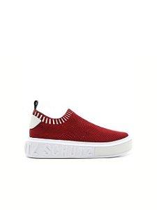 Schutz Sneaker It Bold Knit Red - S2092000010021