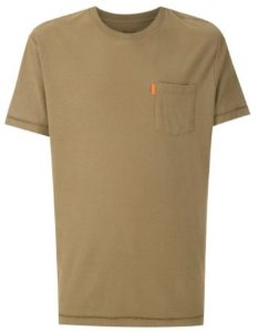 Osklen Tshirt Washed Pocket Spot Camel 56804