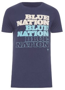 Osklen Tshirt Vintage Blue Nation 56094
