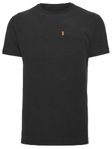 Osklen Tshirt Washed Pocket Spot Black 56804