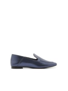 Schutz Loafer Metallic Teal S2071000230024