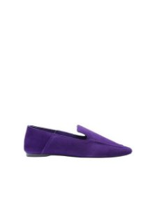 Schutz Loafer Suede Purple S2071000230022