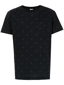 Osklen Tshirt Mc Masc Mini Coqueiros Full Preto 57229
