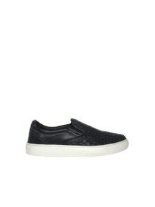 Democrata Tênis Slip on Denim Live Preto 129106-004