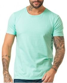 Docthos Tshirt Mc Slim Basic Verde Claro 623436946