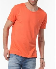 Docthos Tshirt Mc Slim Basic Coral 623436946