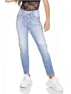 Denimzero Calça Jeans Fem Mom Dz3067